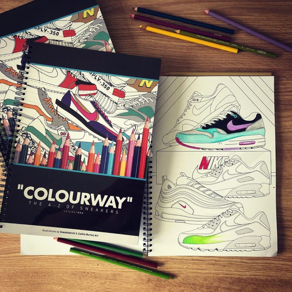Sneaksketch Colouring Book